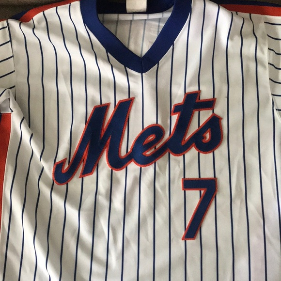 release date 6f8b4 6c70f New York Mets throwback authentic Reyes Jersey